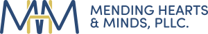 Mending Hearts & Minds logo. Find individual therapy, couples counseling, and professional supervision Maryville, TN.